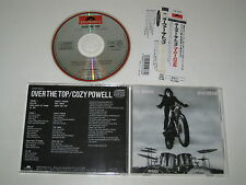 Cozy powell/over the top (pol p33p 25033) Japon CD + OBI