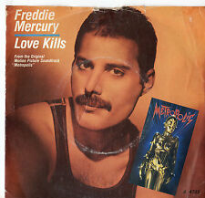 "Freddie MERCURY-Love Kills 7"" SINGLE 1984"