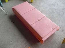 Vintage 1973 Mattel Barbie Long Pink Bed Look