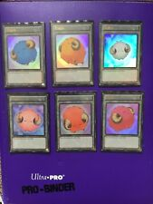 YUGIOH Scapegoat / Stray Lambs Token Set Of 6 LC04 Sheep / Lamb / Goat Tokens
