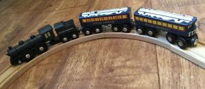Massive Polar Express Brio Wooden Train Set with many extras