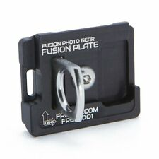 Manfrotto RC2/200pl Compatible Fusion Plate - Black