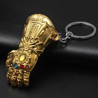New Marvel The Avengers Thanos Stainless Metal Keychain Keychain Movie Fan Gifts