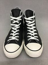Converse 153820C Mens CTAS Leather/Wool Hi Top Sneakers Black #CV13