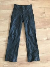 Joseph Faux Leather Look Trousers Size 8