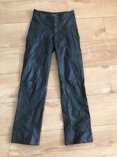 Joseph Women's Faux Leather Look Trousers Medium