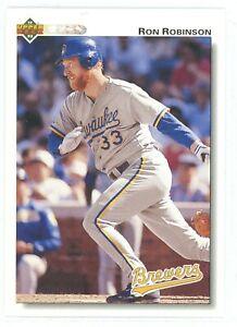 1992 Upper Deck Baseball Milwaukee Brewers Team Set