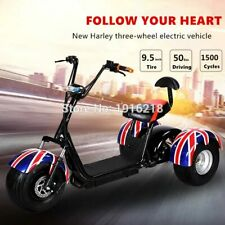 Multiple Colors 3 Wheels Motorcycle Adult Electric Scooter Plus Broadband Chair