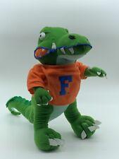 "University of Florida Gators NCAA 12"" Toy Factory Plush Alligator Mascot Animal"