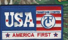"""Thompson USA Center Arms patch (2 1/2"""" x 4 1/2"""")"""