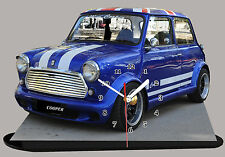 MODEL CARS, AUSTIN COOPER -12, car passenger,11,8x 7,8 inches  with Clock