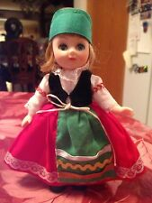 Italy Doll Of All Nations No 136 All Vinyl Jointed Doll Collectible Very Rare