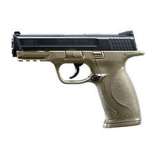 RWS S&W M&P BB Gun CO2 Operated .177 Caliber 19 Round Capacity Flat Dark Earth