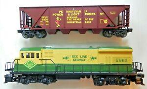 Lionel O ga. Set #1971 Quaker City Limited with Reading Lines U36B Loco & 7 cars