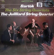 The 6 String Quartets-Juilliard-Columbia-d3s-717 - Bartok - 3 LP BOX