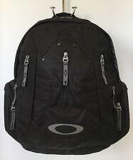 Oakley Backback Laptop Bag Black Multi Compartment Phone Pocket Breathable Back