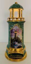 Thomas Kinkade Rock Of Salvation Lighthouse Illuminated