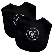 Nfl Football Oakland Raiders Baby Infant 2 Pack Bib New Team Logo Baby Fanatic