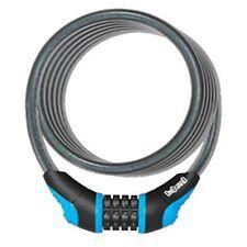 OnGuard Doberman Portable Combo Bike Cable Combination Lock 120cmx8mm BLUE