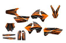 2005 - 2006 KTM SX SXF 125 250 450 525 Graphics kit #3333 Orange