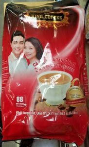 2 PACK KING 3 IN 1 INSTANT COFFE 88 STICKS PER BAG ☕