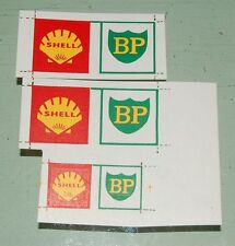 "#68 Dinky Stickers for #944 Leyland Octopus ""Shell/BP"""