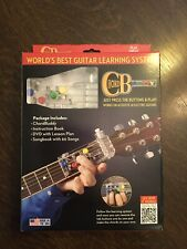 CHORD BUDDY Guitar Learning System Teaching Practrice Aid CHORDBUDDY Lessons.
