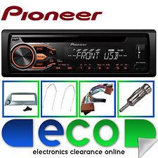 Ford Ka Pioneer CD MP3 USB AUX voiture Rouge Stéréo Lecteur & Gris Fascia Kit de montage