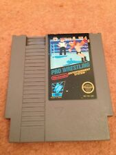 PRO WRESTLING NINTENDO NES GAME USA NTSC *CART ONLY*