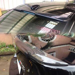 Carbon BMW 04-10 E60 Sedan M5 type trunk spoiler +A type roof spoiler ◎