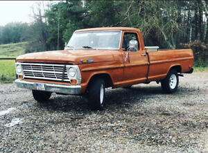 Ford F100 Longbed bj 1968