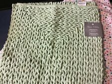 Nwt Gianna Collection Chenille Braided Rug/Runner 22x60 Sage Green Super Soft!