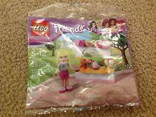 LEGO Friends Stephanie's Bakery Stand (30113) cookie pretzel cupcake strawberry