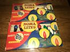 2 Sets Noma ChristmasTree Lites 7  Light 3010SF w Boxes  Tested Work Decorations