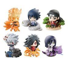 New Anime Naruto Shippuden Petit Chara Land Figures Toy Doll Set 6PCS