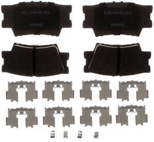 Disc Brake Pad Set-Ceramic Disc Brake Pad Rear ACDelco Advantage 14D1212CHF1