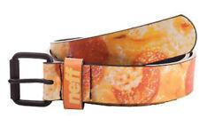 New Neff PU Belt Mens S/M (Small / Medium), Pizza Print