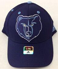 buy popular b9e47 2d588 adidas Memphis Grizzlies Navy Team Nation Logo Structured Flex Hat L xl