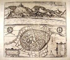 Antique map, Ciuitatis Cocheimensis / Ciuitatis ... Merfeldensi