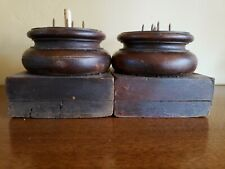HARD TO FIND!  NICE ANTIQUE BASES for COLUMNS POSTS SALVAGE