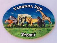 Taronga Zoo Sydney Australia Souvenir Magnet Vintage (L37)