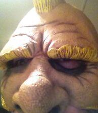 Halloween Paper Magic Group 2005 Mask Gnome Dwarf Old Man Biker Blond Mohawk ZDQ