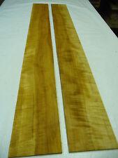 Apfelholz Zargen gemasert, Tonholz; 90x10x0,5cm; Artnr 45; 1 Paar