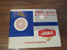 Vintage JAWA OEM Moped 50cc 50 CC Owners Manual 207 311C 311DL 300 DLX  SW41K