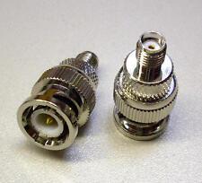 2 Stück HF-Adapter, SMA-Buchse/ BNC-Stecker (M3682-2)