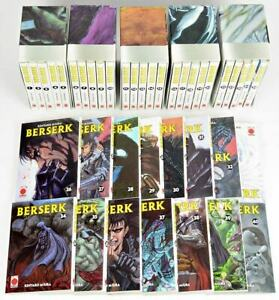 Berserk Band 1-40 komplett - Top-Zustand inkl. 5 Schuber - Planet Manga ab 2001