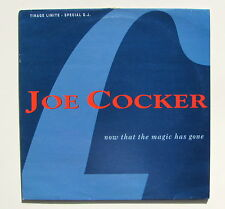 JOE COCKER.....NOW THAT THE MAGIC HAS GOME...PromoCopy