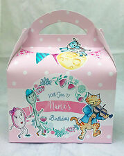 Nursery Rhymes Children's Personalised Party Boxes Favour 1st Class Post