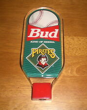 Budweiser Beer Pittsburgh Pirates Lucite Tap Knob Handle