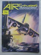 AIR ENTHUSIAST 2/74 PAN AM 747 ARAVA XFV-12A FOKKER SCHELDE S.21 BALLOON JAPAN